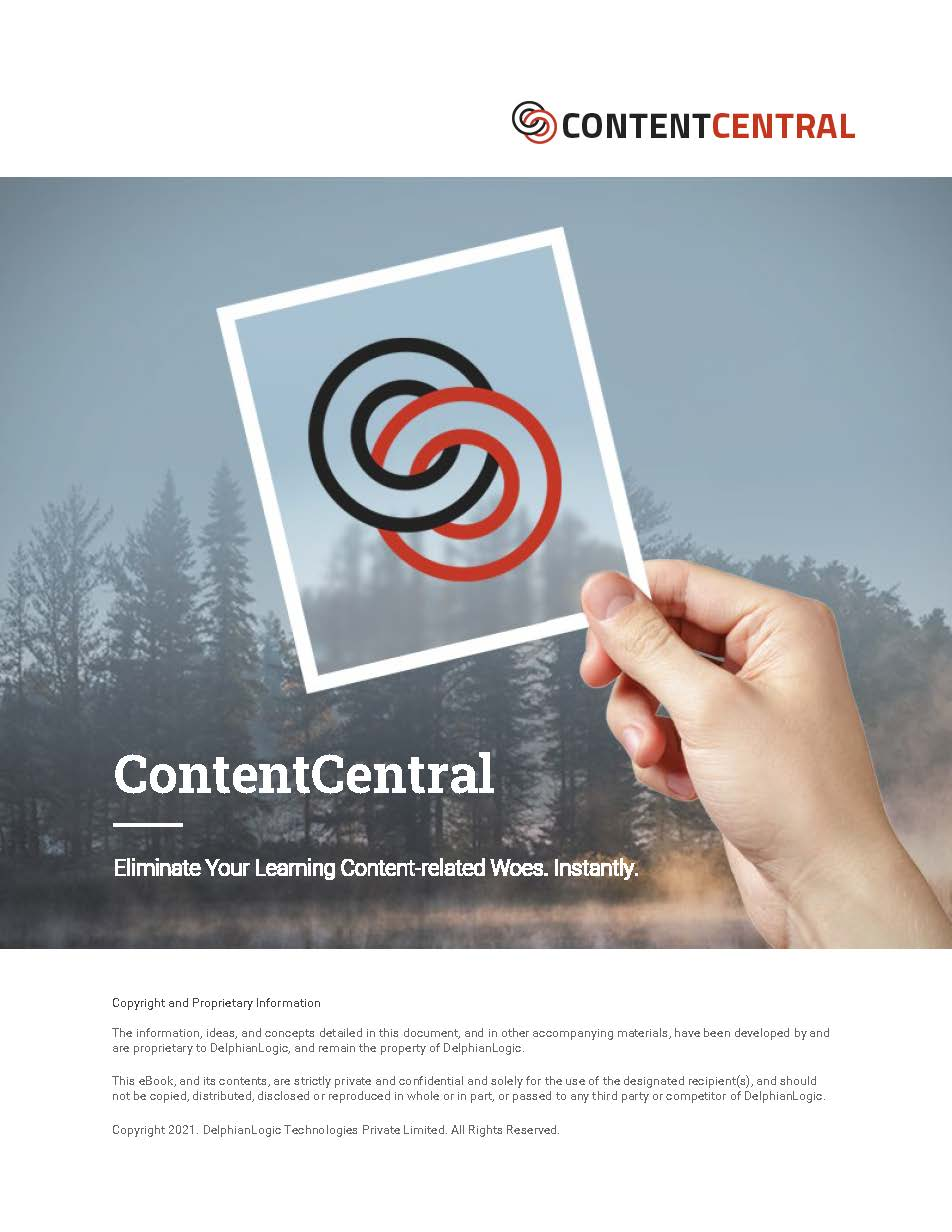 Eliminate Your Learning Content-related Woes. Instantly.